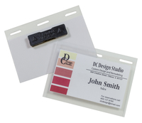 Image for Self-Laminating Magnetic Style Name Badge Holder Kit, 4 x 3 inches, Pack of 20 from SSIB2BStore