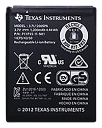 Image for Texas Instruments  Rechargeable Battery, Without Wire from School Specialty