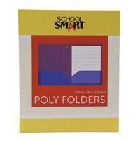 Poly 2 Pocket Folders, Item Number 2019620