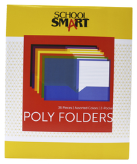 Poly 2 Pocket Folders, Item Number 2019623