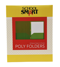 Poly 2 Pocket Folders, Item Number 2019625