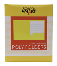 Poly 2 Pocket Folders, Item Number 2019627