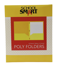 Poly 2 Pocket Folders, Item Number 2019628