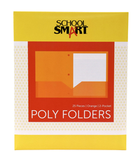 Poly 2 Pocket Folders, Item Number 2019629