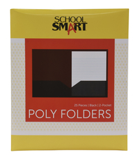Poly 2 Pocket Folders, Item Number 2019631