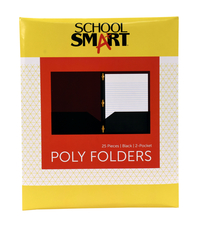 Poly 2 Pocket Folders, Item Number 2019633