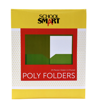 Poly 2 Pocket Folders, Item Number 2019634