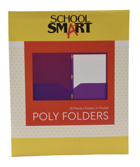 Poly 2 Pocket Folders, Item Number 2019635