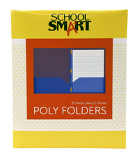 Poly 2 Pocket Folders, Item Number 2019638