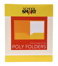 Poly 2 Pocket Folders, Item Number 2019639