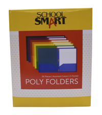 Poly 2 Pocket Folders, Item Number 2019641
