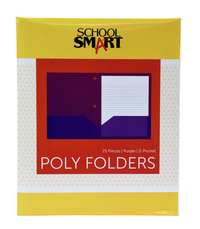 Poly 2 Pocket Folders, Item Number 2019642