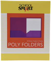 Poly 2 Pocket Folders, Item Number 2019643