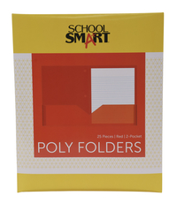 Poly 2 Pocket Folders, Item Number 2019644