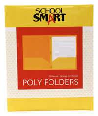 Poly 2 Pocket Folders, Item Number 2019645