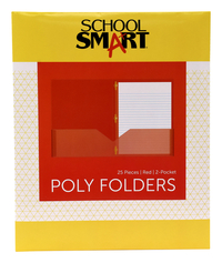 Poly 2 Pocket Folders, Item Number 2019647