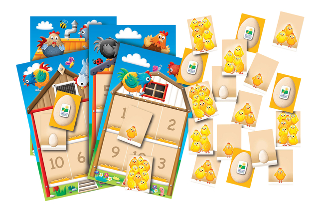 Number Sense and Counting Supplies, Item Number 2019856