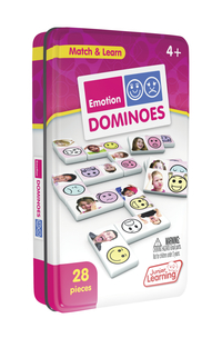 Image for Junior Learning Emotion Dominoes from School Specialty