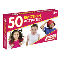 Image for Junior Learning 50 Emotion Activity Cards from School Specialty