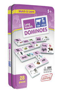 Junior Learning Long Vowels Dominoes Item Number 2019863