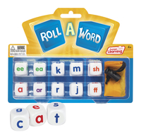 Image for Junior Learning Roll-A-Word Dice from School Specialty
