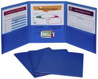 Poly Multi Pocket Folders, Item Number 2020302