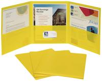 Poly Multi Pocket Folders, Item Number 2020303