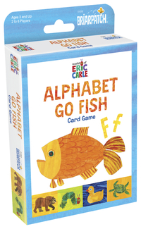 Briarpatch The World of Eric Carle Go Fish Card Game Item Number 2020713