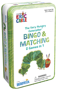 Briarpatch The Very Hungry Caterpillar Bingo & Matching Game Item Number 2020716