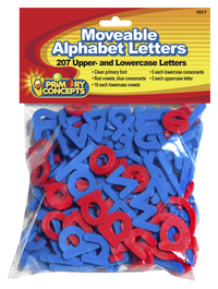 Primary Concepts Moveable Letters, Set of 207, Grades PreK to 3 Item Number 2020941