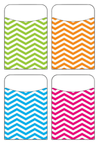 Image for Trend Terrific Pockets, 3-1/2 x 5-1/4 Inches, Looking Sharp, Set of 40 from School Specialty
