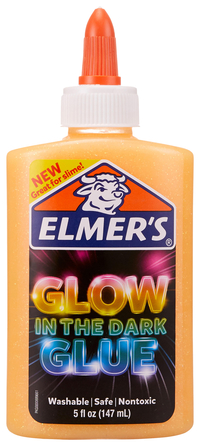 Elmer's Glow in the Dark Glue, 5 Ounces, Orange Item Number 2021526