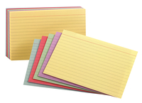 4x6 Ruled Index Cards, Item Number 2021583