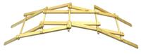 Eisco Labs Garage Physics Leonardo Da Vinci Bridge Kit, No Tools Required Item Number 2022514