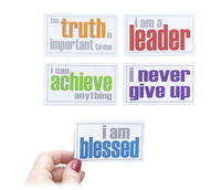 Image for Inspired Minds Encouragement Booster Set - Set of 5 Magnets from School Specialty