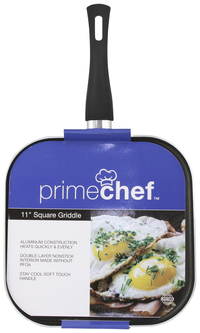 Image for PRIME CHEF 11 INCH SQUARE GRIDDLE from SSIB2BStore