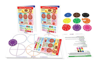 Image for Newpath Learning Pizza Fractions Activity Kit from School Specialty