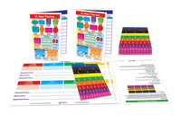 Image for Newpath Learning Fraction Tiles Activity Kit from School Specialty