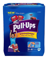 Image for Huggies Pull-Ups Training Pants, 3T-4T Boys,  88/CS from School Specialty