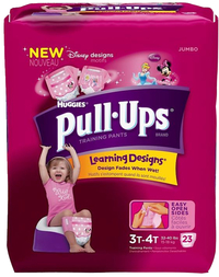 Image for Huggies Pull-Ups Training Pants, 3T-4T Girls,  Case of 88 from School Specialty