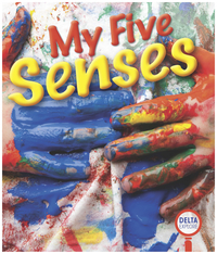 Image for Delta Explore My Five Senses, Pink Leveled Reader, Pack of 4 from School Specialty