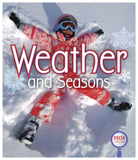 Image for Delta Explore Weather and Seasons, Pink Leveled Reader, Pack of 4 from School Specialty