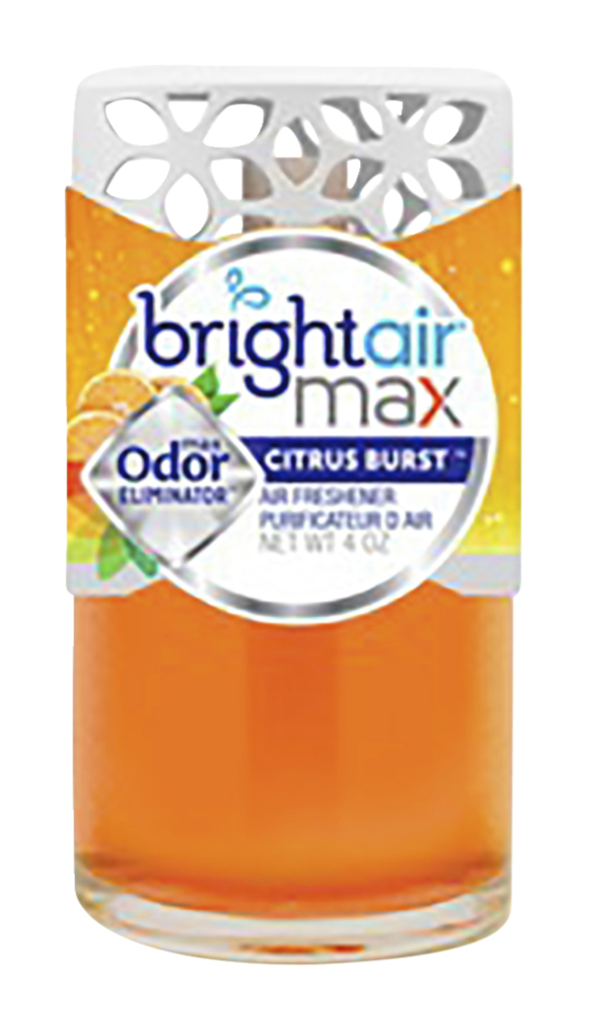 Image for Bright Air Max Cool + Clean Odor Eliminator, Citrus Burst, 4 Ounces, Each from School Specialty