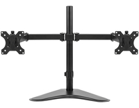 Image for Fellowes Professional Series Free-standing Dual Stacking Monitor Arm, Black, Each from School Specialty