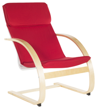 Image for Guidecraft Kiddie Rocker, 26 x 27 x 40 Inches, Red from School Specialty