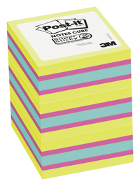 Image for Post-it® Super Sticky Notes Cubes, Pack of 3 from School Specialty