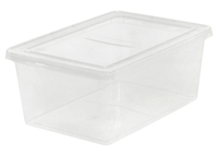 Image for IRIS 17 quart Storage Box, 7 Height x 12 Width x 17.5 Depth Inches, Clear, Each from SSIB2BStore