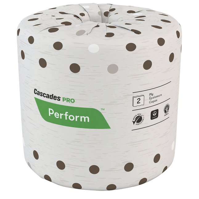 Image for Cascades PRO B400 PRO Perform Latte Toilet Tissue, Pack of 80 from School Specialty