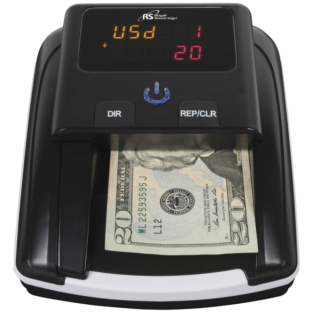 Image for Royal Sovereign Quick Scan Counterfeit Detector, Each from School Specialty