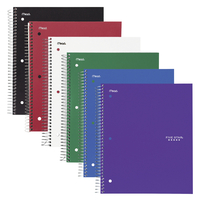 Image for Mead Five Star Subject Spiral Notebook, Pack of 6 from School Specialty